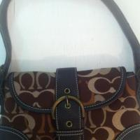 Brown COACH purse - small Photo