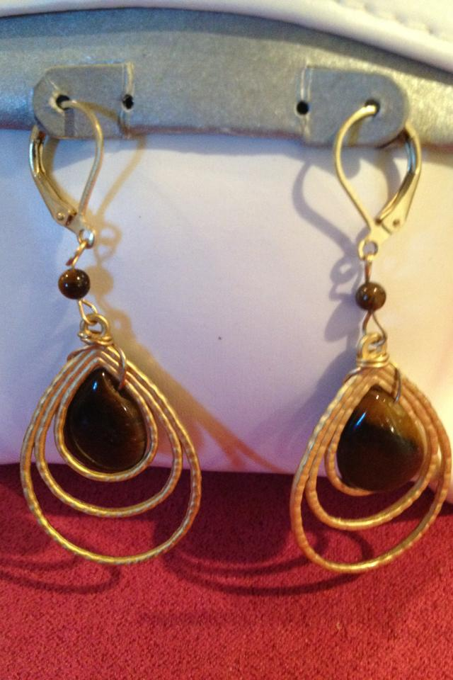Fashionable Earrings  Photo