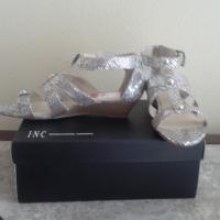 INC Rio Silver Mid-wedge Sandals Photo