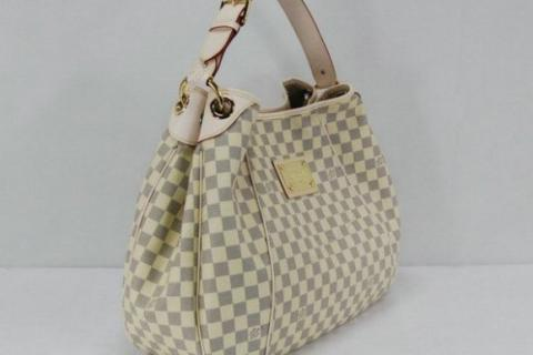 PRE ORDER LOUIS VUITTON DAMIER AZUL WHITE GALLERIA HAND BAG Photo