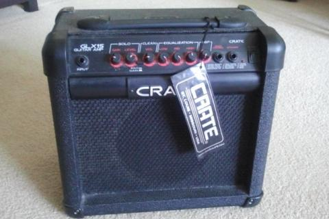 Crate GLX-15 amp Photo