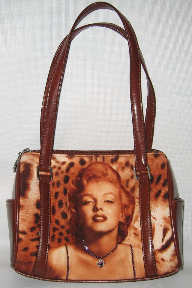 MARILYN MONROE Handbag Purse Large Photo
