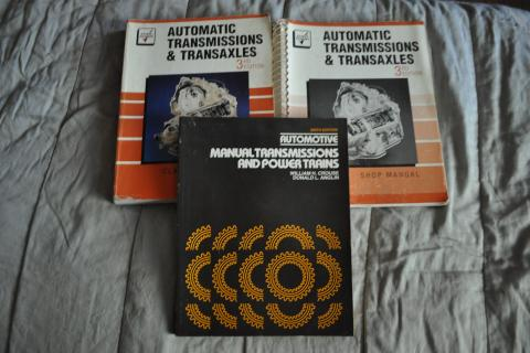3rd EDITION  Automatic Transmissions & Transaxles Set  AND  6th EDITION Automotive Manual Transmissions and Power Trains Photo