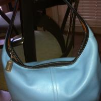 Designer Coach Leather Handbag  Photo