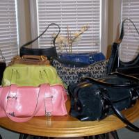 Designer womens Fine Leather Handbags Photo