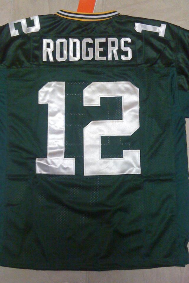 Aaron Rodgers Green Bay Packers New NFL Elite 2012 Jersey Size 48 (XL) NWT Large Photo