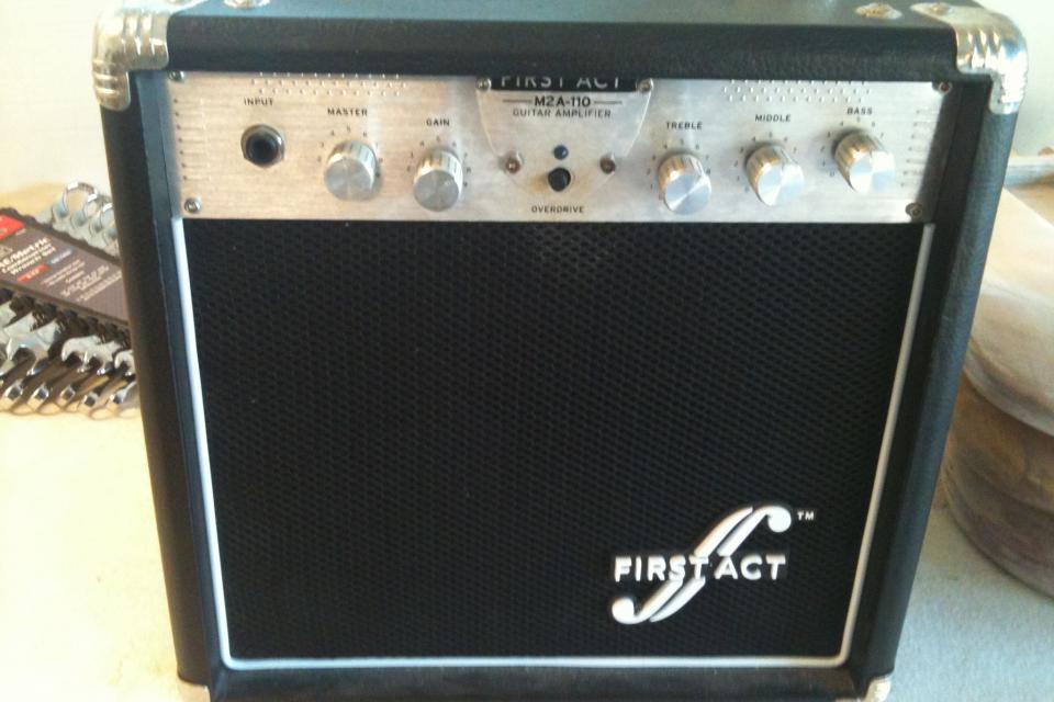 First Act 15watt Amp Large Photo