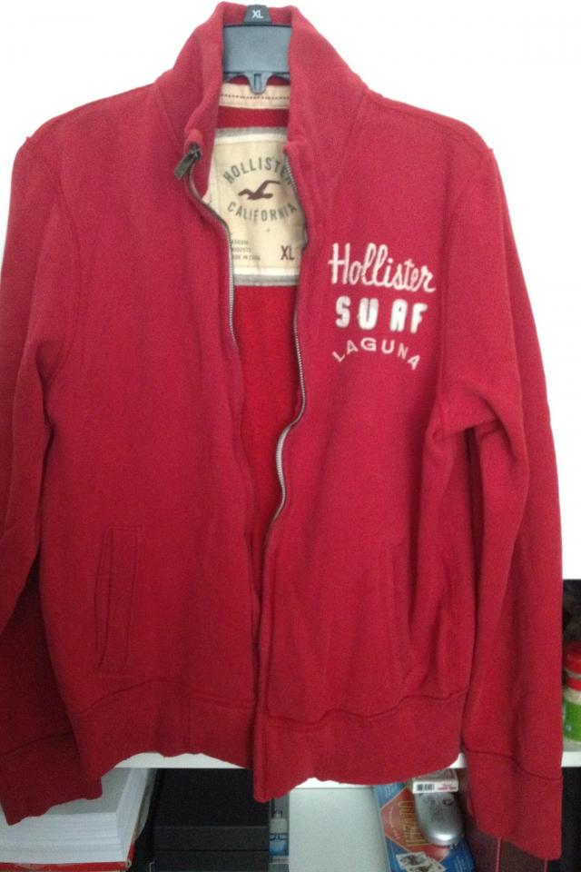 Men's Hollister Track Jacket XL Large Photo