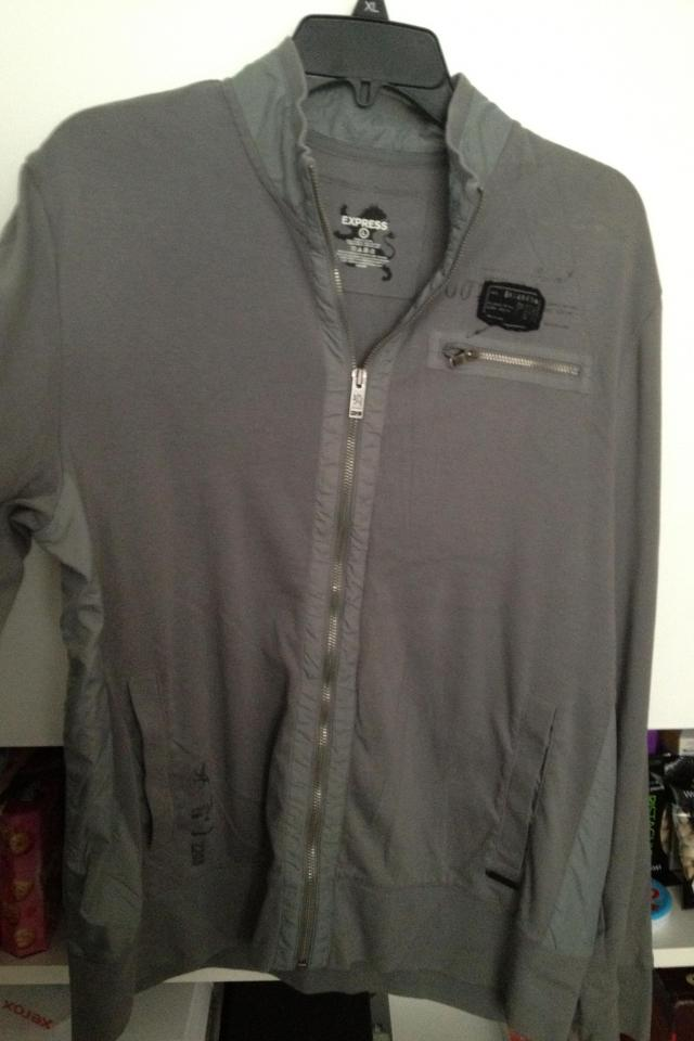 Men's Express Zip Track Jacket L Photo