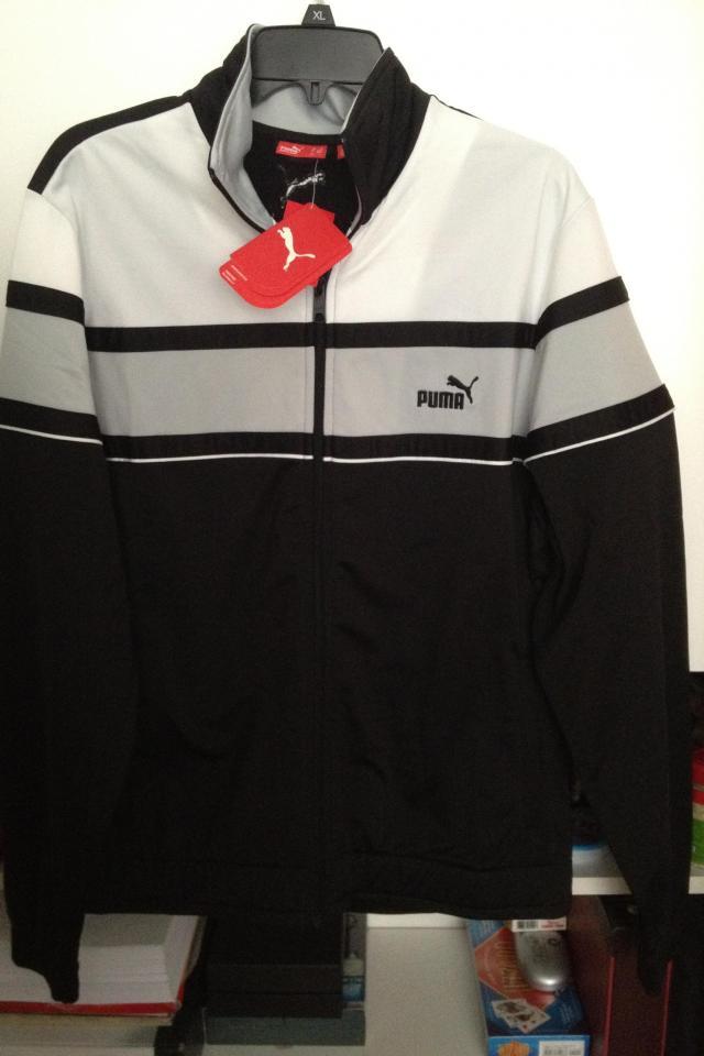 Men's Puma Track Jacket L NWT Photo