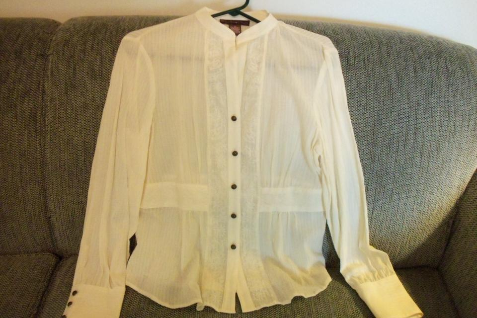 NEW BANDOLINO SHEER BLOUSE WITH TAGS Large Photo