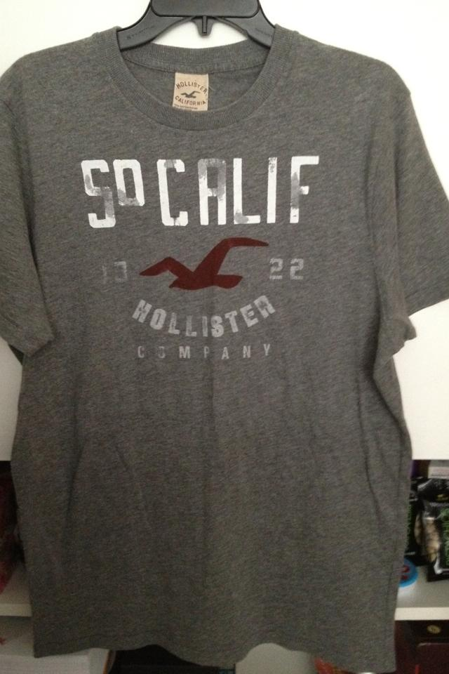 Men's Hollister T-shirt XL Photo