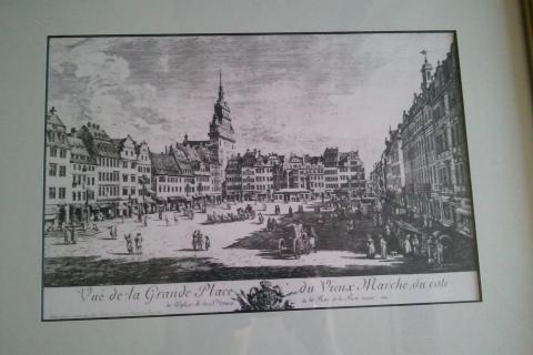 Black and White European Art Photo