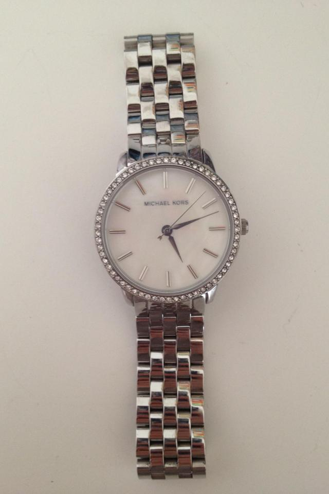 Michael Kors Silver Watch Photo