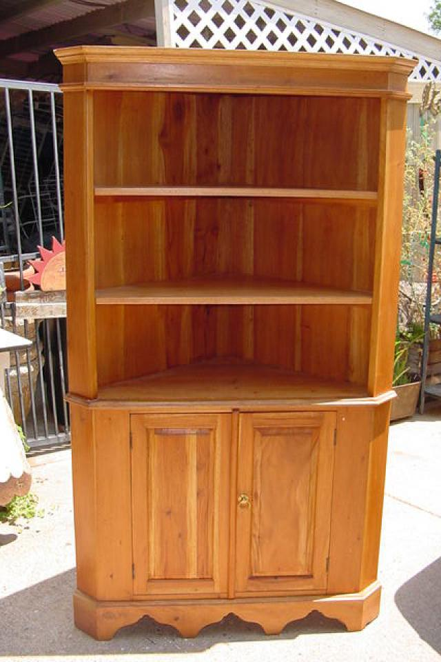 CORNER CABINET MAHOGANY Photo