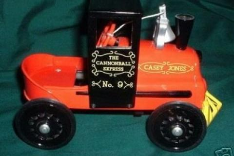 Hallmark Kiddie Car Classic 1961 Garton Casey Jones Locomotive Photo