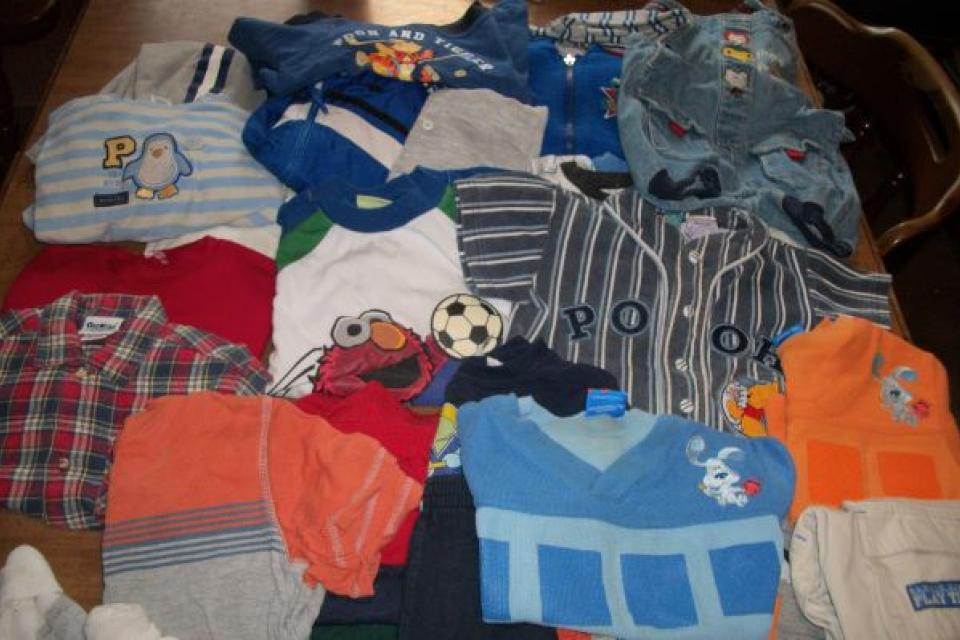 SIZE 2T_24 MONTHS BOY'S CLOTHING LOT_38 ITEMS IN ALL  Large Photo