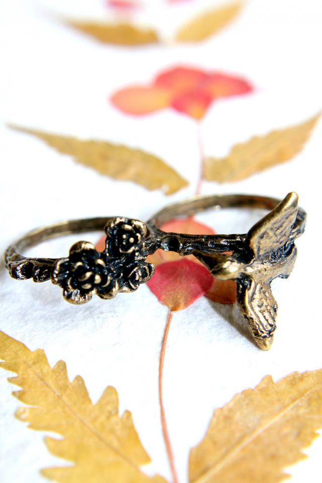 Bring Me Joy, Little Sparrow Ring Large Photo
