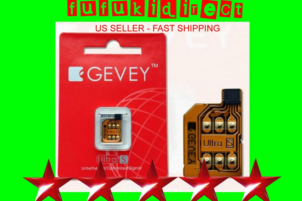 GEVEY ULTRA S Unlock + RESET Sim for ANY GSM iPHONE 4S on iOS 5.1 5.0, 5.0.1  Large Photo