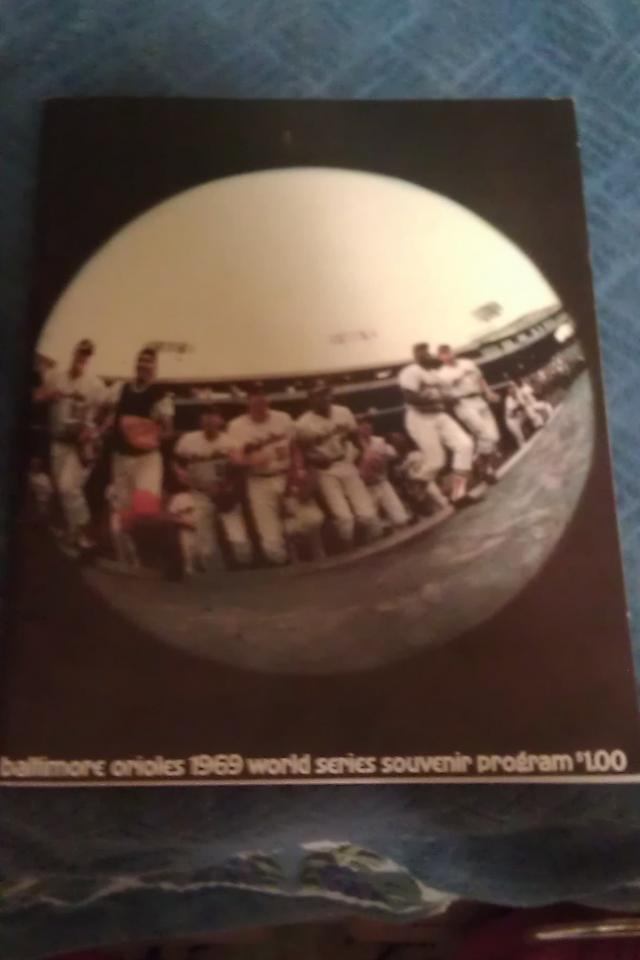 1969 ORIOLES/METS WS PROGRAM + 1966 METS OFFICIAL PROGRAM!! NICE COMBO!! Large Photo