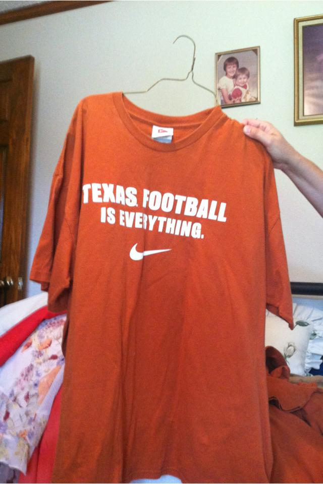 Longhorn orange T-short Large Photo