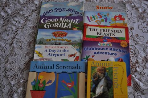 10 Assorted Childrens Reading Books, Grades 1-3, Scholastic Photo