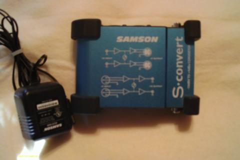 Samson S convert -10dBV TO +4dBu convertor  Photo