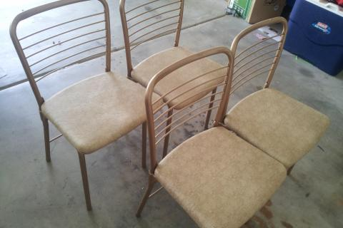vintage cosco folding chairs Photo