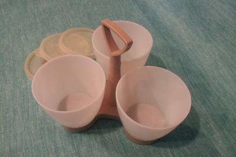 vintage Tupperware caddy Photo