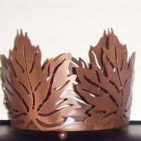 plant pot holder in a Copper finished Photo