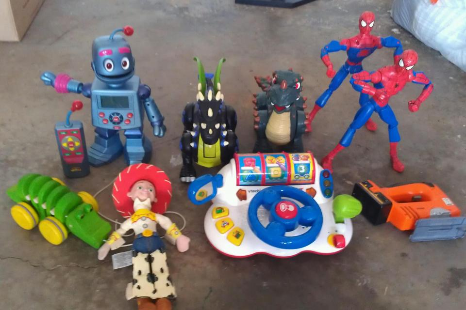 Lot of 9 Toys $55 OBO Large Photo