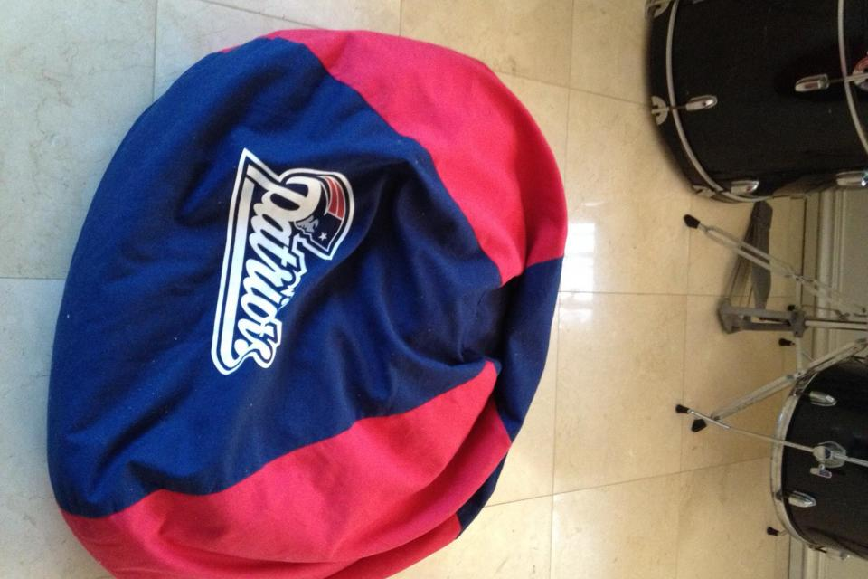 New England Patriots Bean Bag Photo