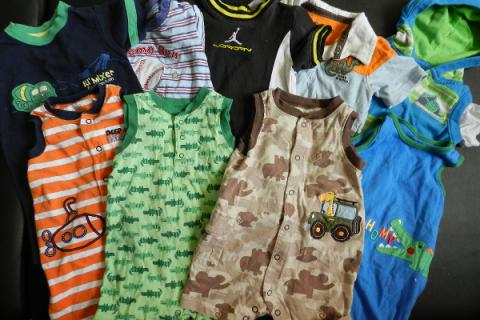 12 month baby boy clothes lot Photo