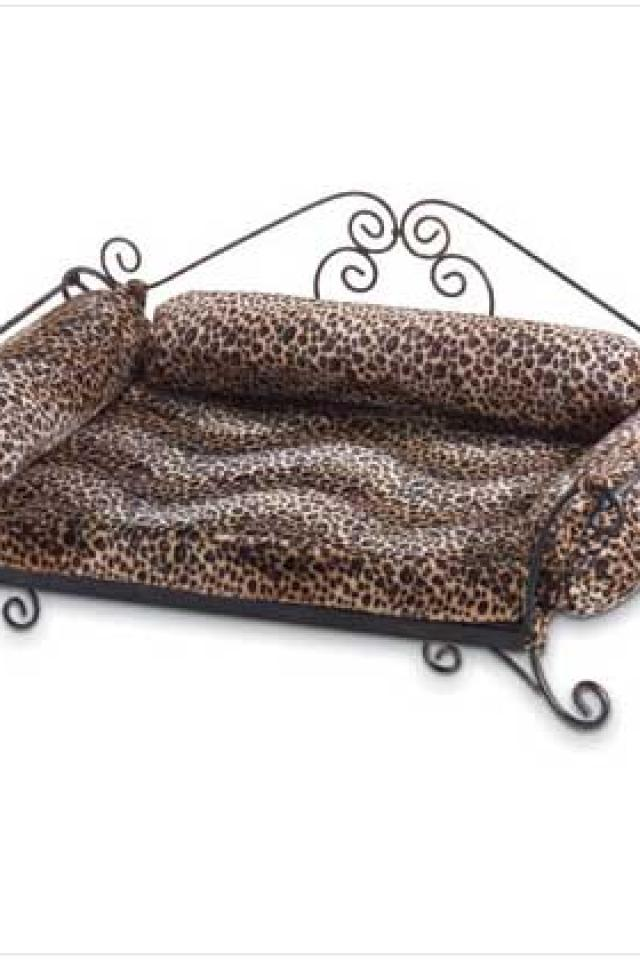 #35269 Safari Print Pet Bed Large Photo