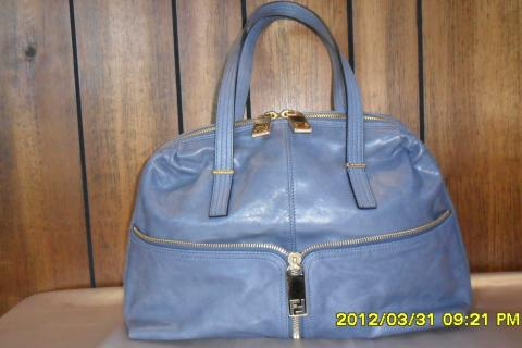 WHAT A STEAL!!!  BEAUTIFUL FENDI ITALIAN LEATHER SATCHEL  $450 Photo