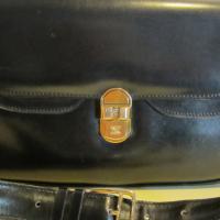 Gorgeous vintage CELINE, black leather bag PARIS Photo