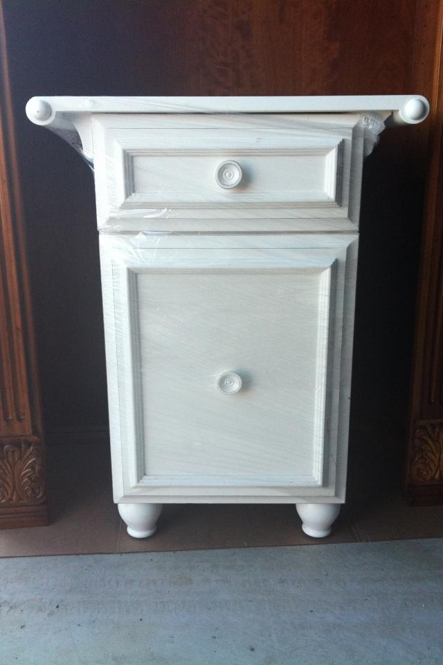 White Bunk Bed & Nightstand Pier One For Kids Photo