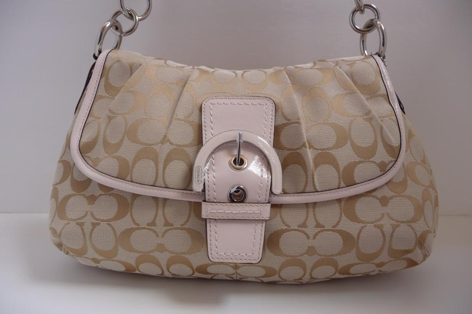 COACH SOHO SIGNATURE BAG (Firm Price) Large Photo