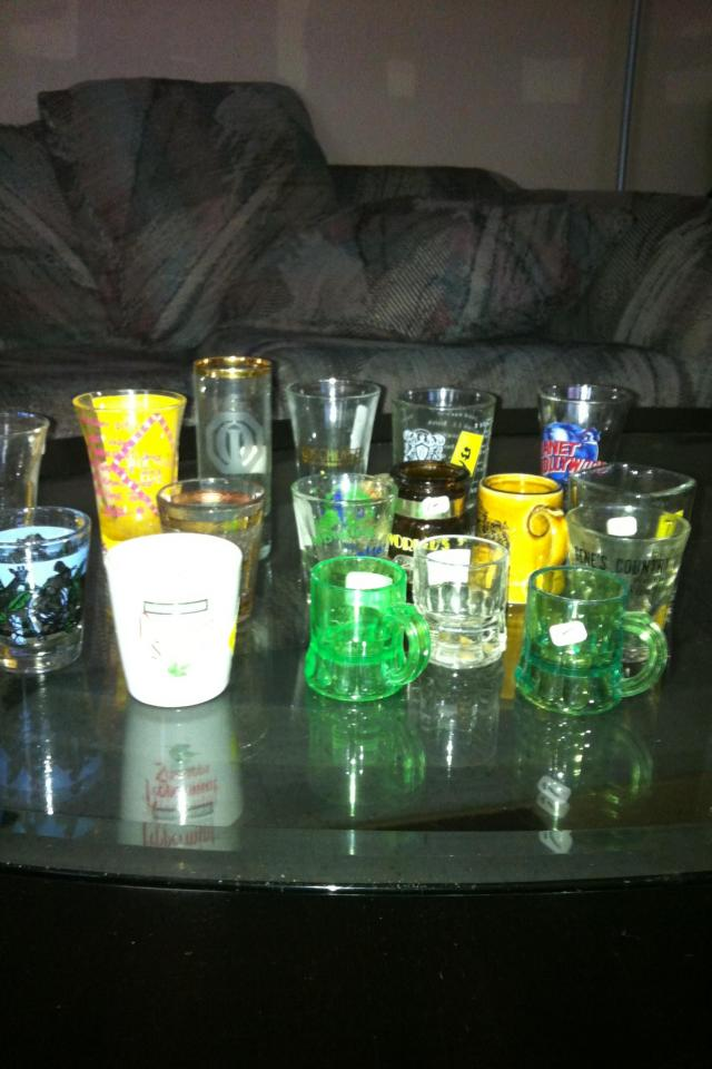 Shot glass collection Photo
