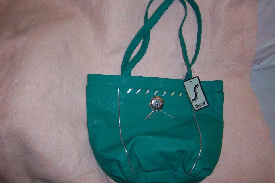buy 1, get 1 free; SARNE  brand new handbag, large, turquoise/a