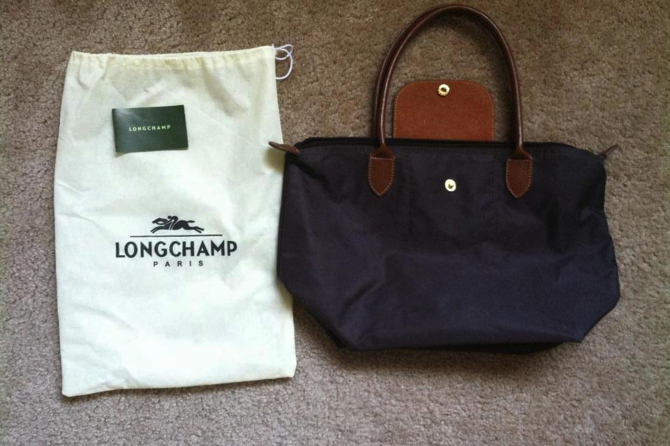 Longchamp balck small size Large Photo