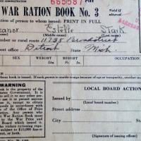 Own a piece of history:  WWII OPA FORM R-130, War Ration Book Three Photo