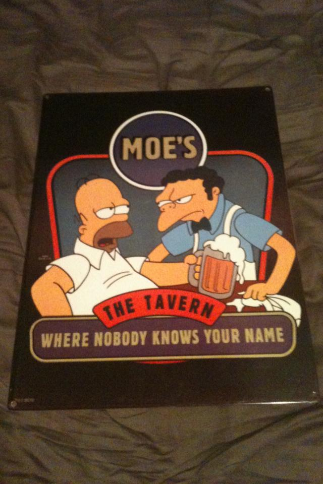 MOES THE TAVERN SIGN Photo