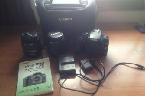 Canon EOS Digital Rebel XTi (Whole Kit) Includes 2 Lenses & Tripod Photo