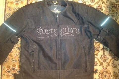 Scorpion Black Motorcycle Jacket L Photo