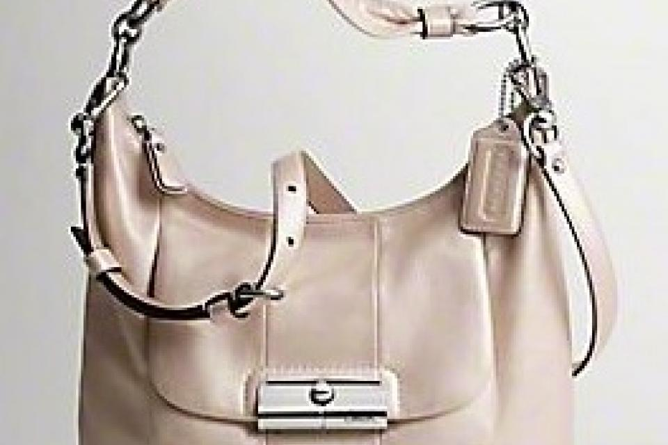 Coach Kristin Leather Hobo-- NWT Large Photo
