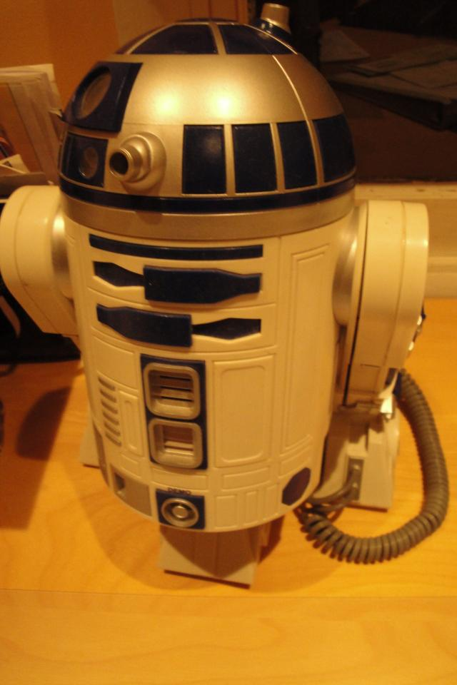 R2D2 Star Wars Telephone Photo