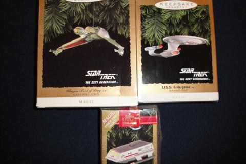 NEW  - Never Used - Star Trek Hallmark Ornaments Photo