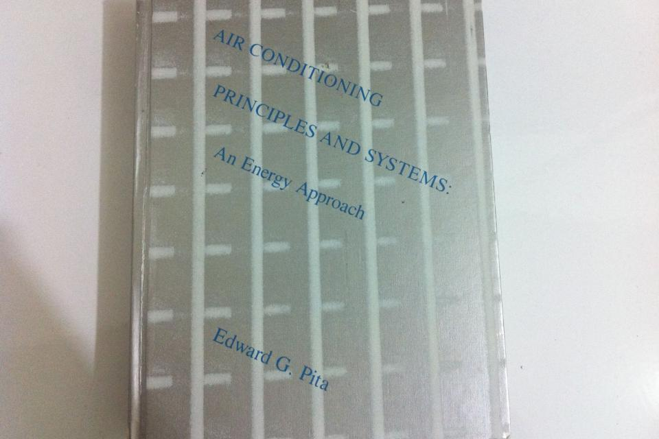 Air Conditioning Principles and Systems by Edward G. Pita  Large Photo