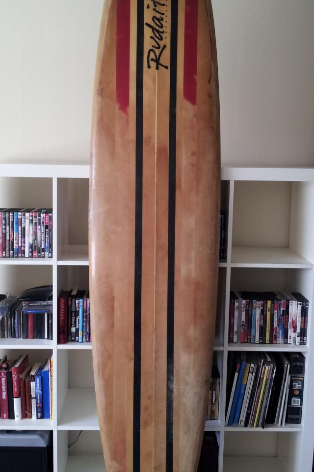 8' Rudaitis Longboard Surfboard Photo